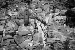 Montefro, Spain - Church (Regan Gilder) Tags: bw church canon blackwhite spain religion moorish granada andalusia whitewash montefro terracottaroof canoneos5dmarkiii