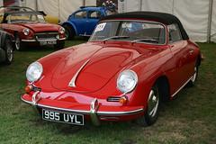 1962 Porsche 356 B Cabriolet (davocano) Tags: brooklands carauction historicsatbrooklands 995uyl
