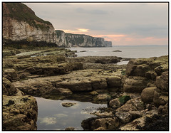Bempton Cliffs_1030914-1 (HJSP82) Tags: sunset sea seascape coast rocks ngc shoreline cliffs pools shore rockpools ngs bempton 20160517flamborough