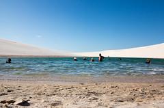 guas (felipe sahd) Tags: people brasil pessoas lagoa maranho dunas barreirinhas lenismaranhenses