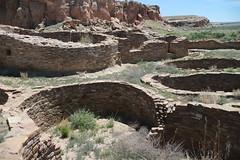 Chaco Canyon Adventure (CaptDanger) Tags: newmexico southwest nationalpark ruins rocks pueblo nm chacocanyon chacoculturenationalhistoricalpark americansouthwest chacocanyonnationalpark chacoan nativeruins photosbyalanosterholtz