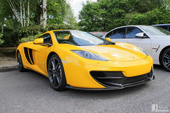 Mclaren 12C | CA11 SPD (Jgalea14) Tags: black sports car yellow canon automobile outdoor sunday may engine lancashire mclaren vehicle preston motor phantom meet supercar spd 22nd winger fulwood 12c 100d ca11 pscm ca11spd