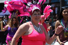 SF Carnaval 2016 (DanceAndRun) Tags: sf carnival pink dance san francisco breast cancer parade carnaval performer cure manal 2016