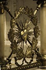 Sacred Heart Gate (Lawrence OP) Tags: newyork gate cathedral jesus brass stpatricks sacredheart