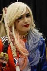 Phoenix Comicon 2016 Cosplay (V Threepio) Tags: girl female costume cosplay dressup cosplayer dccomics comiccon harleyquinn comicconvention 2016 35mmlens suicidesquad phoenixcomicon canon7d phxcc