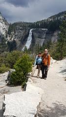 Nevada Fall in Yosemite NP