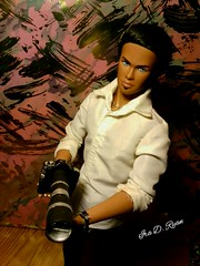 new camera (krixxxmonroe) Tags: ira d ryan photgraphy krixx monroe styling ooak custom camera handsome damon aa barbie basics ken