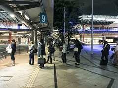 gifu-japan-052 (stephanieklein) Tags: japan standing order line queue directions gifu rule orderly follower queuing