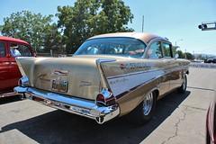 So-Cal Speed Shop Open House 2016 (USautos98) Tags: chevrolet belair chevy 1957 hotrod custom streetrod gasser