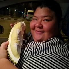 Durian Thailand Thai Food Thai Women Food Delicious Food Porn Samut Prakan Obese Woman Obese (markusg2010) Tags: food thailand delicious foodporn durian obese thaifood samutprakan thaiwomen obesewoman