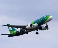 EI-DEI.                 A320-214.     Green Sprit (Gormanston spotter) Tags: aerlingus eidw a320214 eidei greensprit