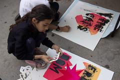 Screenprinting Workshop (Brooklyn Hi Art Machine) Tags: bham bkhiartmachine nyc newyork political printmaking socialpractice streetart art artwork organizing ows people politics poster silkscreen street