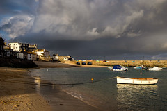 St Ives harbour, late afternoon (thriddle) Tags: cornwall stives
