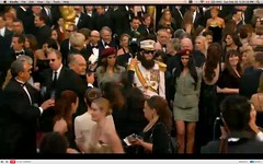 Oscar 2012 - Sacha Baron Cohen - The Dictator - pix 04
