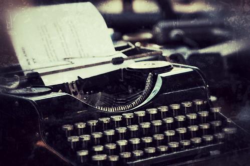German War-era typewriter