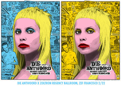 Die Antwoord x Zoltron (billy craven) Tags: screenprint serigraph gigposter zoltron dieantwoord