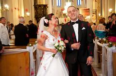 ślub kościelny Ani Sebastiana_1 (hand made photo) Tags: płatki urocze róży