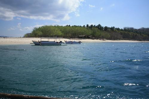 leaving Gili Tangkong island