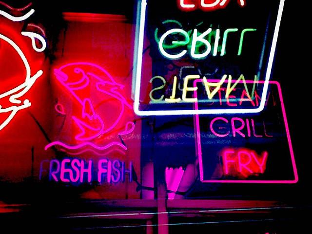 Fish. Meats. Fry.