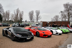 LAMBORGHINI's Line-Up : Aventador - Miura - Jarama - Countach (Ludovic (SCLUDO.com)) Tags: cloud paris cars coffee car saint sport s cc exotic lp spotted 5000 lamborghini supercar countach sportscars exotics supercars sighting stcloud hippodrome jarama miura eap 5000s sportcars 7004 carscoffee exoticscars aventador scludo lp700 lp7004 scludocom