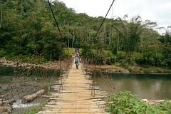 bridge (sarrlen) Tags: trip mountains fun climb amazing philippines trail bags tribe epic jeepney immersion memorable higaonon