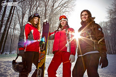 (Wonder Design) Tags: lighting winter girls light portrait sun snow ski sports girl female canon project lens wonder design nice model snowboard flare softbox trigger 2012 lightroom modells 550d storaljajhely strobist 540ez