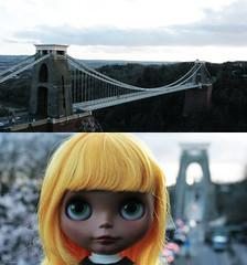 Clifton Suspension Bridge / Windy Day