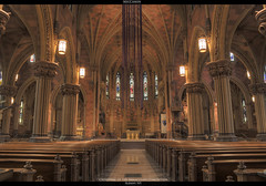 Cathedral of the Immaculate Conception, Albany NY (MecCanon) Tags: new york 2 ny photoshop canon rebel is capitol ev ii albany mm 1855 region hdr conception immaculate 518 500d photomatix cahtedral t1i