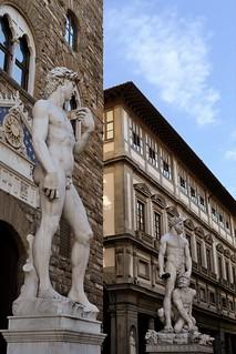 David, Hercules & Cacus