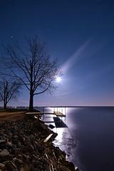 K7_10060 (Bob West) Tags: longexposure nightphotography moon ontario night fullmoon moonlight nightshots startrails k7 southwestontario bobwest rondeaubay pentax1224