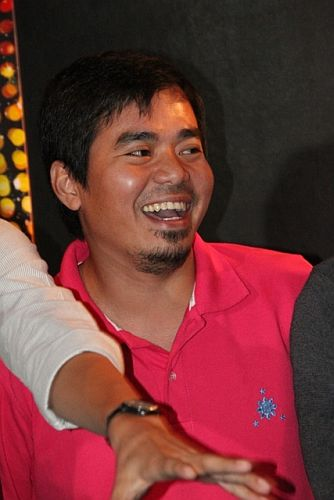 Nominee Gloc 9 during MMA 2012 announcement of nominees (photo by Allan Sancon) [1]