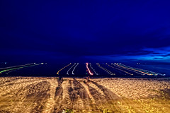 850C9995- Light trails and shadows (Zoemies...) Tags: light beach night shadows trails balikpapan melawai zoemies