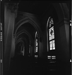 Mang Lang church (dropletcafe) Tags: bw 6x6 film architecture darkroom mediumformat blackwhite scans photos scanner 120film vietnam kodaktrix expiredfilm hasselblad500cm analogcamera kodakbw buildingstructure phuyen kodak320txp bwnegativescan 120220film photographicchemistry kodakhc110dilutionb filmchemistry kodakhc110developer filmformats photosshot kodakchemicals bwchemistry kodakindicatorstopbath kodakphotoflo200 canon9000f analogimages kodakimages manglangchurch bwfilmchemistry unknownexpdate kodakhc110dilution131 kodakkodafixsolution