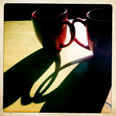 love in the morning (dogfaceboy) Tags: light shadow cup window coffee tea mug redcanoe coffeeklatch hipstamatic dailyhipsta