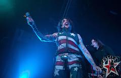 The Darkness - Foxy Shazam - St Andrews Hall - Detroit, MI - Feb 10th 2012