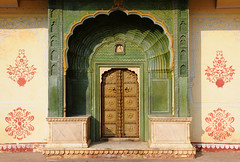 Detail of City Palace, Jaipur / India (anji) Tags: india jaipur rajasthan pinkcity