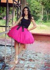 Maria Zilio (NB - Daiana Dick) Tags: pink ballet girl ballerina dress skirt tutu vestido bailarina saia sapatilha