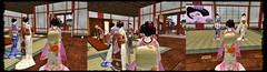 Meeting with Okaasan (MiharuArakawa) Tags: life school beautiful train training pretty sl maiko geiko geisha stunning second kimono elegant arakawa hopeful komon furisode okiya kanzashi erikae tomesode mizuage maiji minarai misedashi kurotomesode geiji shikomi