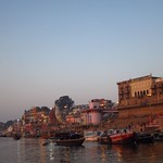 "Sunrise Boat Ride on the Ganges <a style=""margin-left:10px; font-size:0.8em;"" href=""http://www.flickr.com/photos/14315427@N00/6880309879/"" target=""_blank"">@flickr</a>"