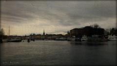 Ghost Town (Papa Razzi1) Tags: sea dark quiet sweden stockholm ghosttown waters oldtown nationalmuseum