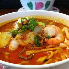 Seafood laksa #foodspotting