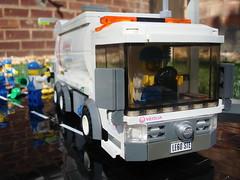 Lego Veolia Bin Wagon (pricey73) Tags: trash truck wagon garbage lego bin lorry vehicle waste veolia diaposal