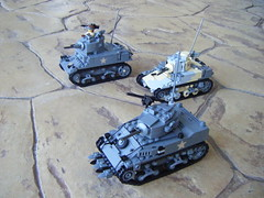 My Stuart Tank Collection (Lego Major) Tags: lego stuart ww2 lighttank