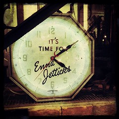 Enna Jetticks Clock @ Olde Good Things (navema) Tags: nyc ny clock vintage square time manhattan squareformat unionsquare vintageclock oldegoodthings navema iphoneography ennajetticks instagramapp uploaded:by=instagram foursquare:venue=4ac8d7c2f964a520d1bc20e3