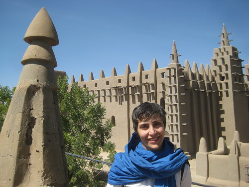 Djenne mosque and Mahsa