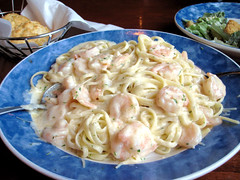 challenge reward (dragon dream (so little time)) Tags: food dinner shrimp delicious linguini blueplate alfredosauce odcluscious