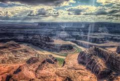 Dead Horse Point - HDR (Steven Sobel) Tags: statepark landscape utah deadhorsepoint canyonlands hdr zs3