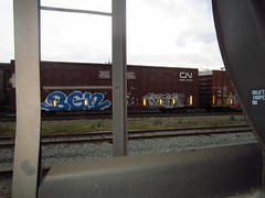 bgm (..bloodsweatandyears..) Tags: west cn train bench graffiti coast bc cp freight bnsf rolling sry