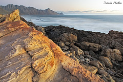 Steenbras River Mouth (Dawie Malan) Tags: bay town cape d800 steenbras kogel