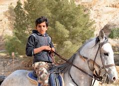 Jordanien - Giordania - Petra (Giorsch) Tags: boy horse petra reiter cavallo pferd junge jordanien ragazzo giordania hashemitekingdomjordan